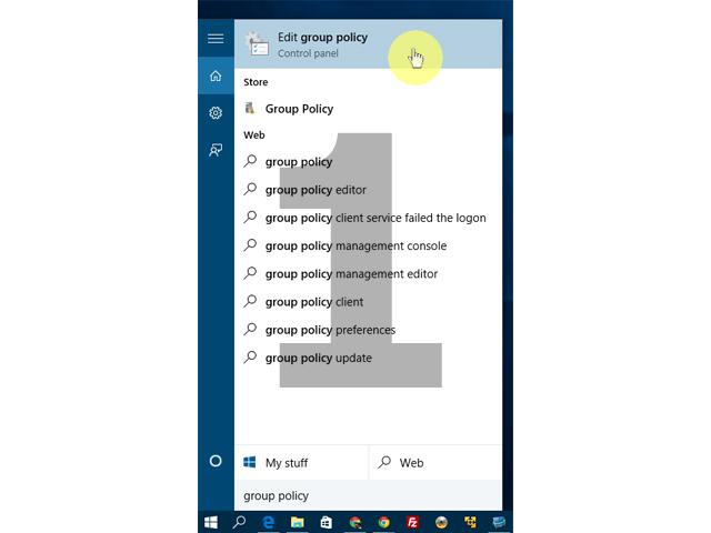 windows 10 edge homepage group policy