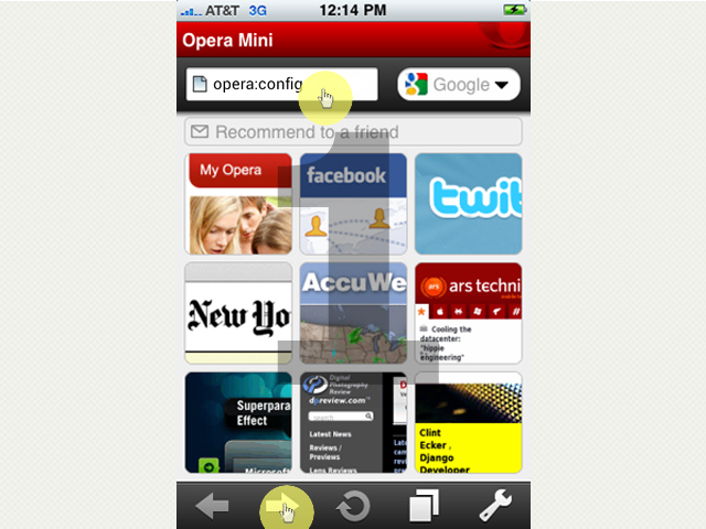 Learn to turn on javascript in opera browser tap the address bar and type strongoperaconfigstrong ccuart Choice Image